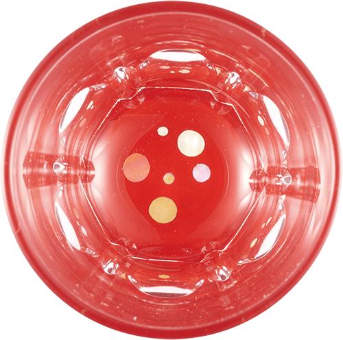 Polka dot (vermilion)